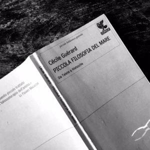 piccola filosofia del mare di Cécile Guerard copertina citazione