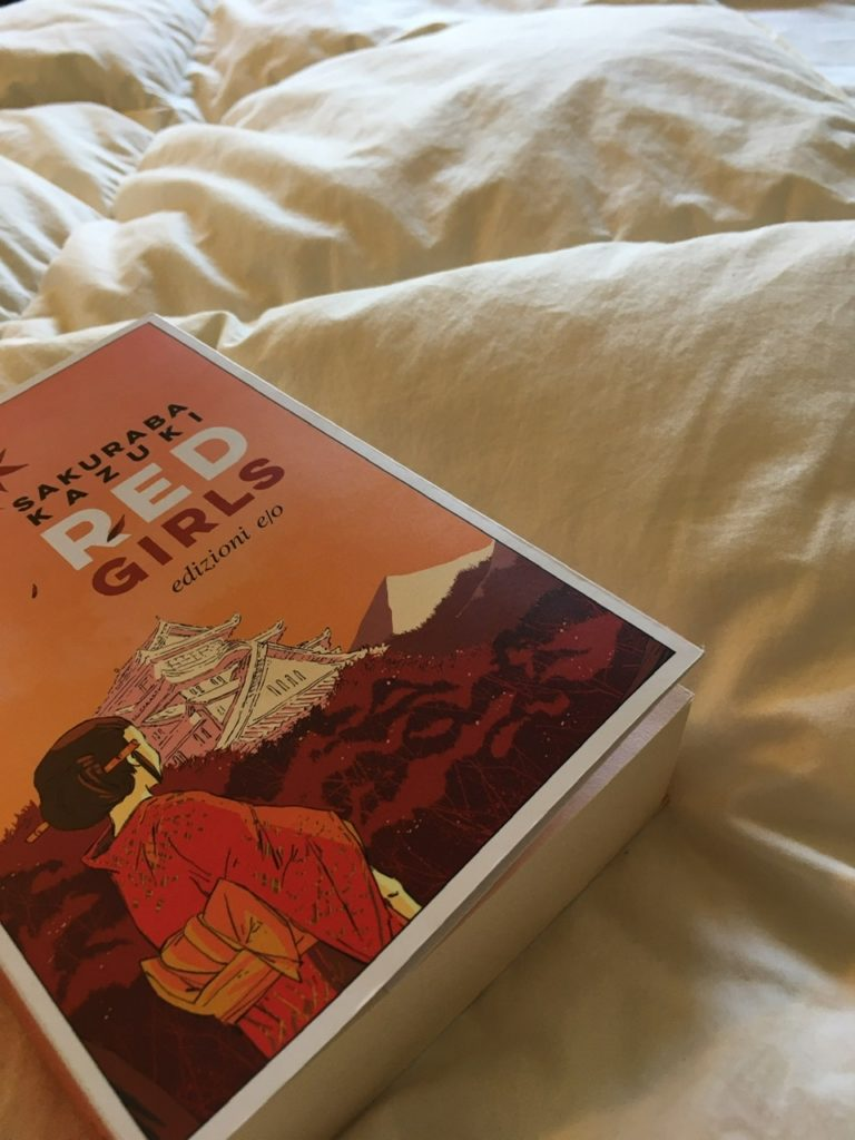 copertina del romanzo Red Girls di Sakuraba Kazuki